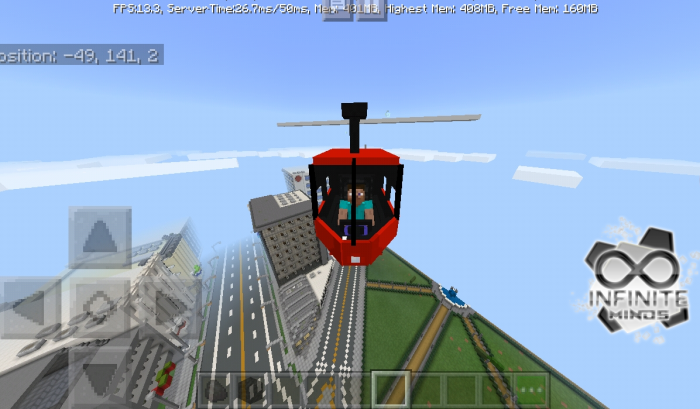 Helicopter Mod/Addon Minecraft PE 1 12 0 12, 1 12 0, 1 11 0, 1 10 0