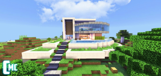 Modern House Map for Minecraft PE 1 12 0 13, 1 12 0, 1 11 0