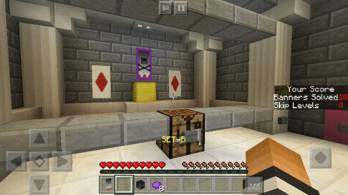 Copy The Banners Map for Minecraft PE 1 11 0, 1 11