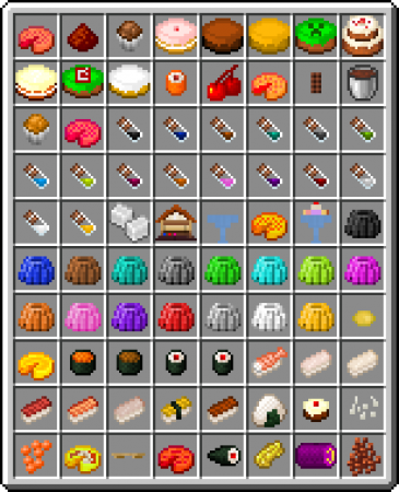 Food! Addon/Mod Minecraft PE 1 12 0 13, 1 12 0 12, 1 12 0 11, 1 12