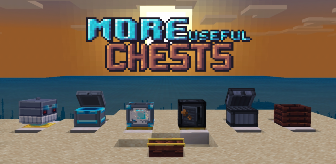 More Useful Chests Addonmod Minecraft Pe 113013 1130