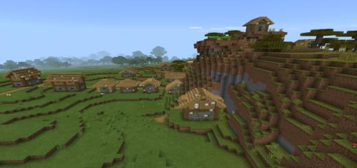 Zombie Village Desert Extreme Hills More Minecraft Pe Seed 1 16 0 1 15 0 1 14 1 13 1 12 1 11