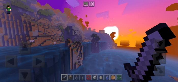 ESTN Shaders Official Release v160 Minecraft PE 1161