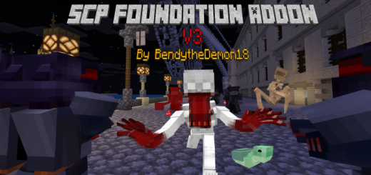 Scp Foundation V3 Minecraft Pe Addon Mod 1 16 0 59 1 16 0 1 15 0 1 14 30 1 13 1