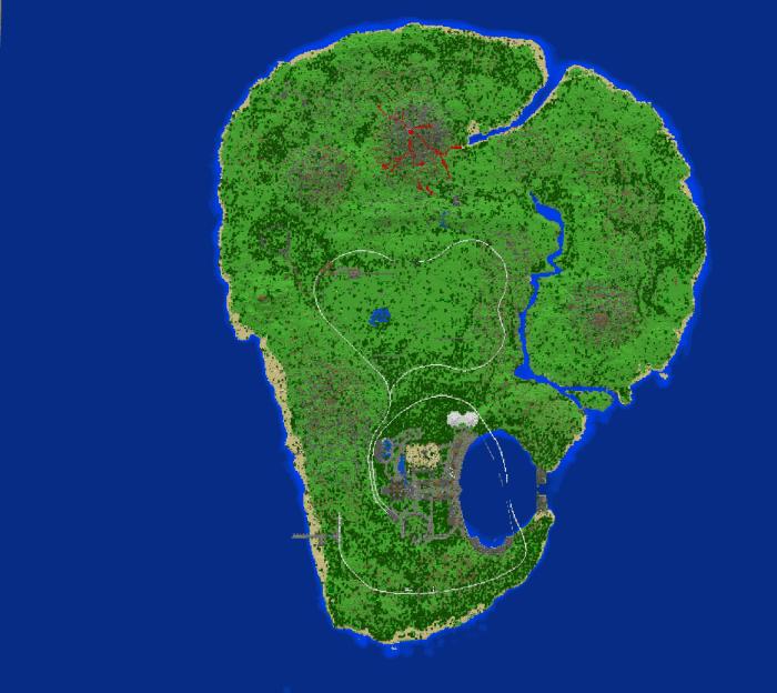 Abandoned Jurassic World (Fallen Kingdom) Minecraft PE Map