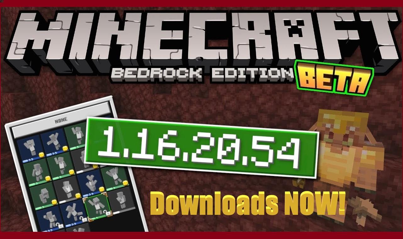 Download Minecraft Pe 1 16 40 02 1 16 100 55 1 16 20 03 1 16 Bedrock Nether Update